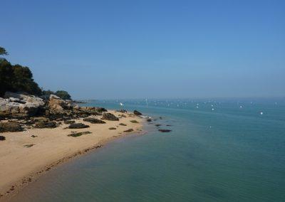 de rustige stranden aan de franse kust