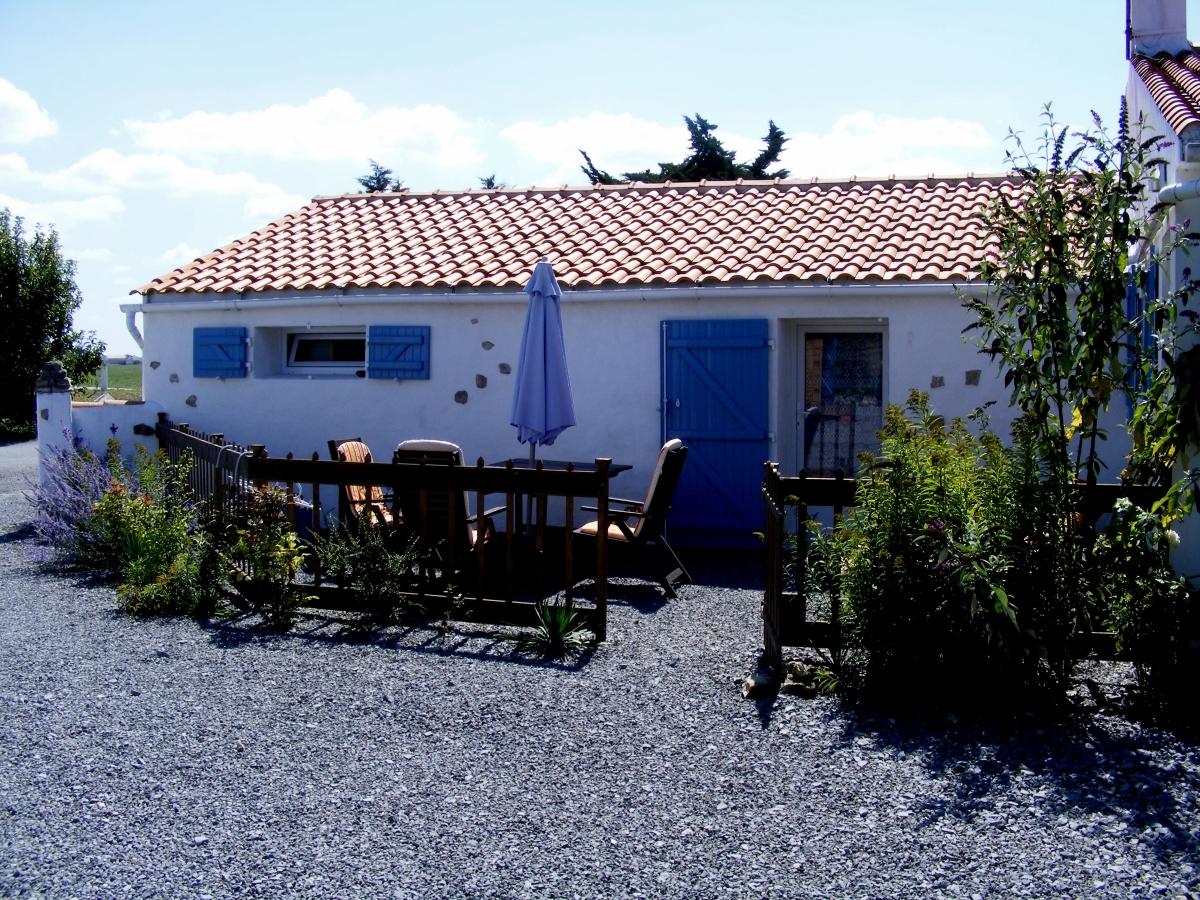 Ruime studio aan de Franse kust