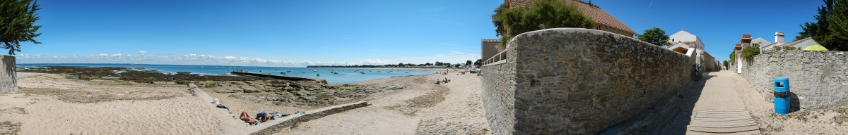 het strand van noirmoutier