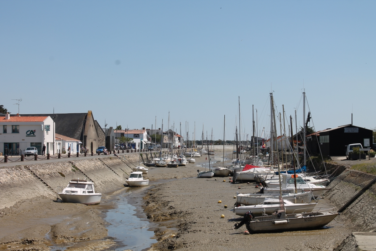 de haven van Noirmoutier