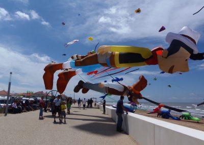 groot vliegerfestival in frankrijk