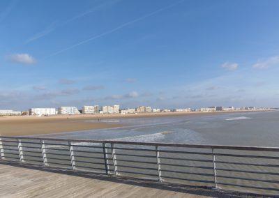 grote badplaats aan de franse kust