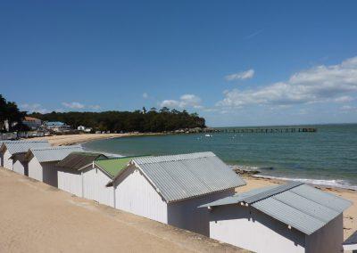 ons favoriete strand op Noirmoutier