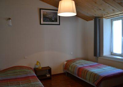 vakantiehuisje met ruime slaapkamers