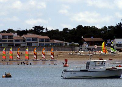 vakantiehuisjes dicht bij het strand in Frankrijk