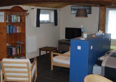 huiskamer studio in Frankrijk