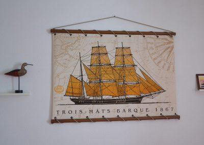 décoration nautique dans un gîte en France