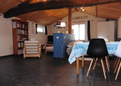 ruime studio voor 2 personen in Frankrijk dichtbij het strand
