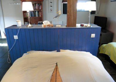 studio in frankrijk met ruim bed van 200 x 160