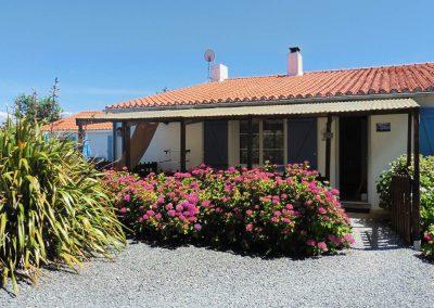 gîte avec terrasse couverte près de Noirmoutier