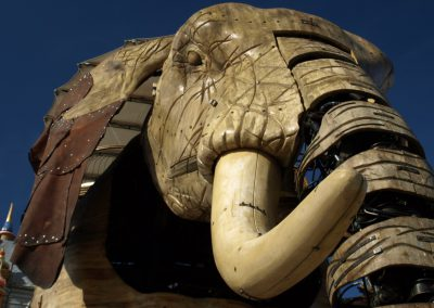de beroemde olifant van Nantes