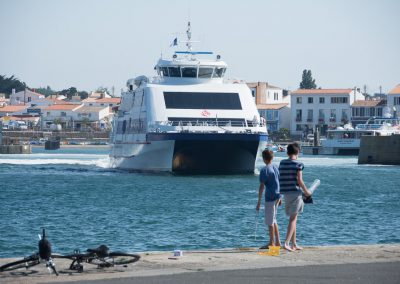 de boot naar ile de yeu