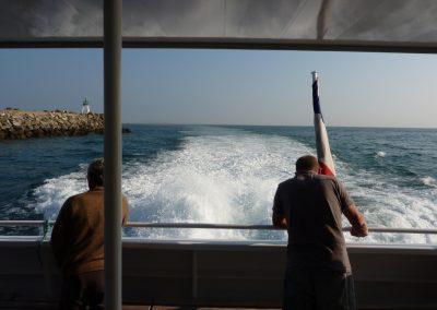 de boot naar ile d'yeu
