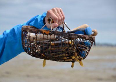 de vangst op de passage du gois