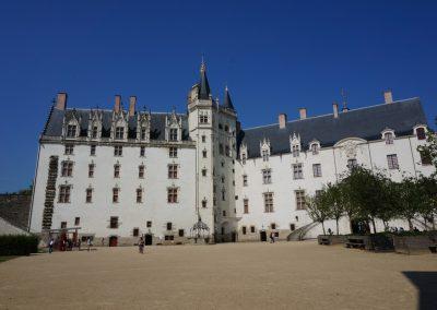het kasteel van nantes