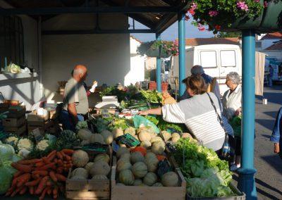 markt in ons dorp beauvoir-sur-mer
