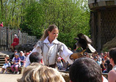 mooie vogelshow in frankrijk