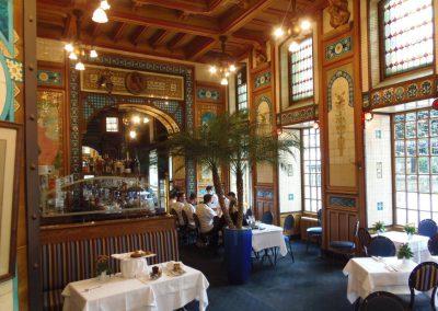 mooiste cafe van Nantes La Cigalle