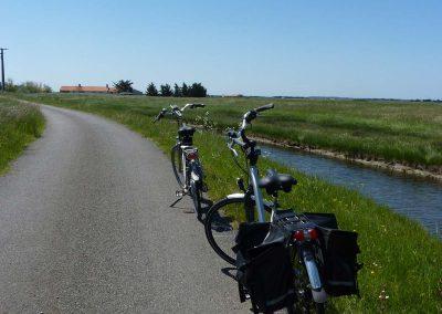 rustige fietspaden aan de franse kust