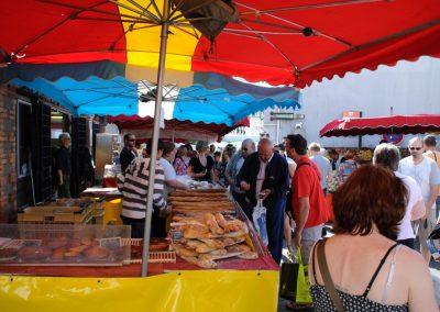 stokbrood kopen op de franse markt