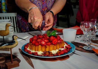 taartje eten in frankrijk