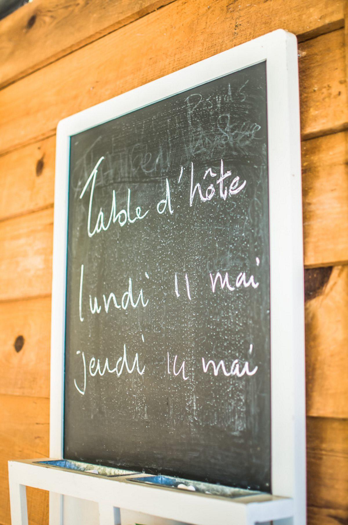 Table d h´te chez Au Passage du Gois en Vendée