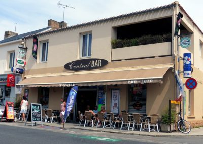cafe in Beauvoir sur mer