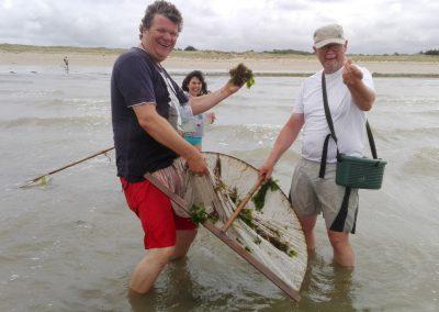 garnalen vissen