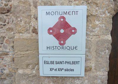 mooie kerk in frankrijk