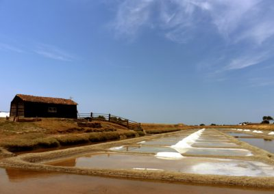 zoutwinning aan de franse kust
