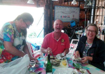 oesters eten in Frankrijk