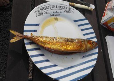 zelfgerookte makreel in frankrijk