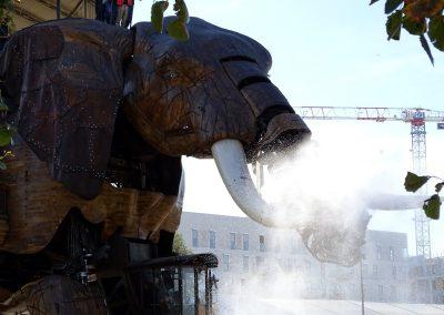 De olifanten in Nantes
