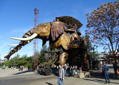 de olifant in Nantes