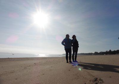 mooi weer aan de franse kust