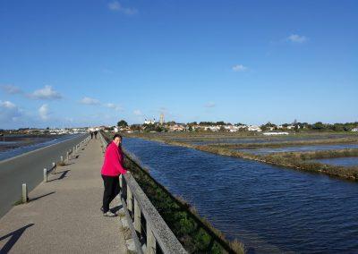 wandelen aan de kust in frankrijk