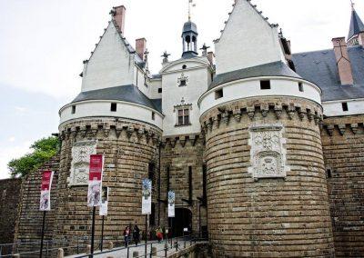 het kasteel in nantes
