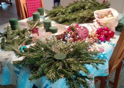 kerststukjes maken in frankrijk