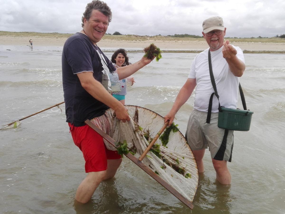 professionele garnalenvissers