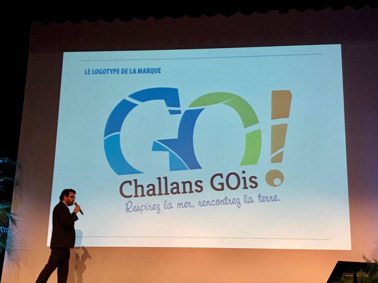 Nieuwe logo Challans Gois tourisme