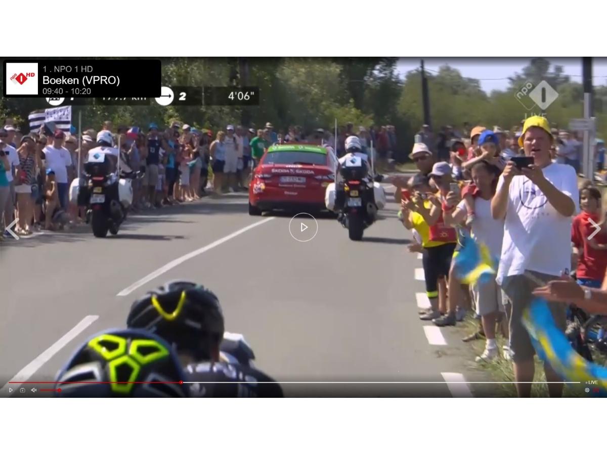 Hemko Bruinsel bij de Tour de France 2018