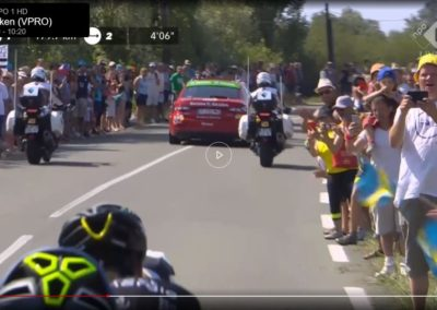 Hemko op TV in de Tour de France
