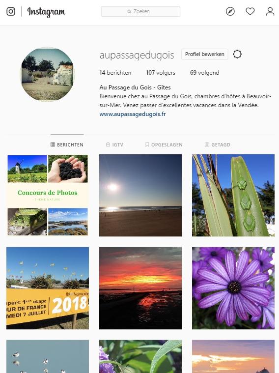 Instagram Au Passage du Gois