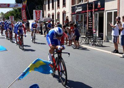 Ploegentijdrit in de Tour de France 2018