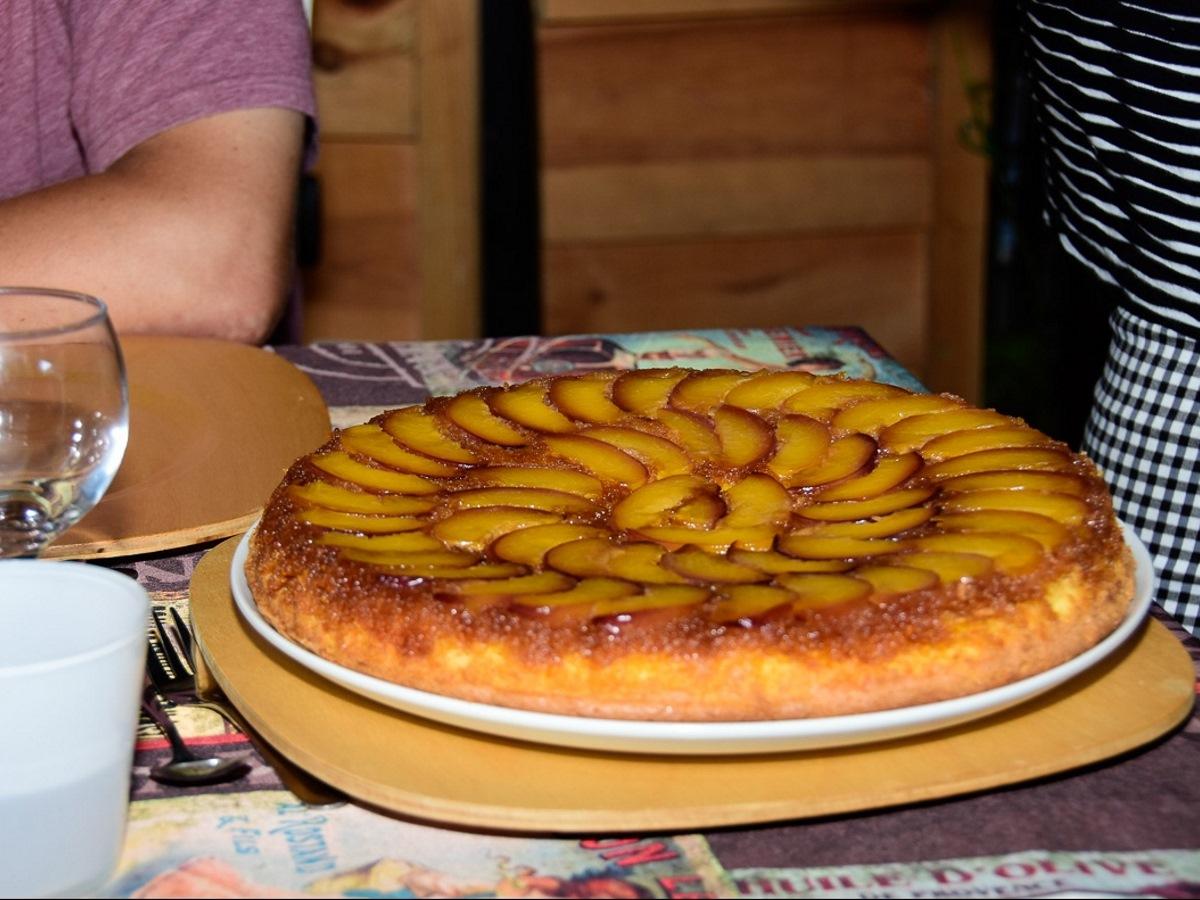 Zelf gebakken taart in Frankrijk