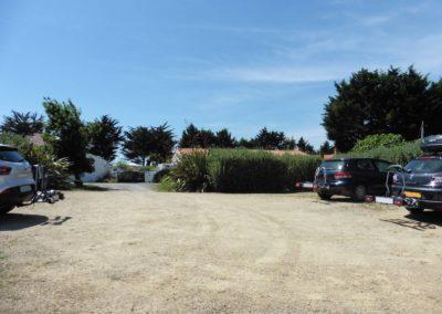 autos op de parkeerplaats