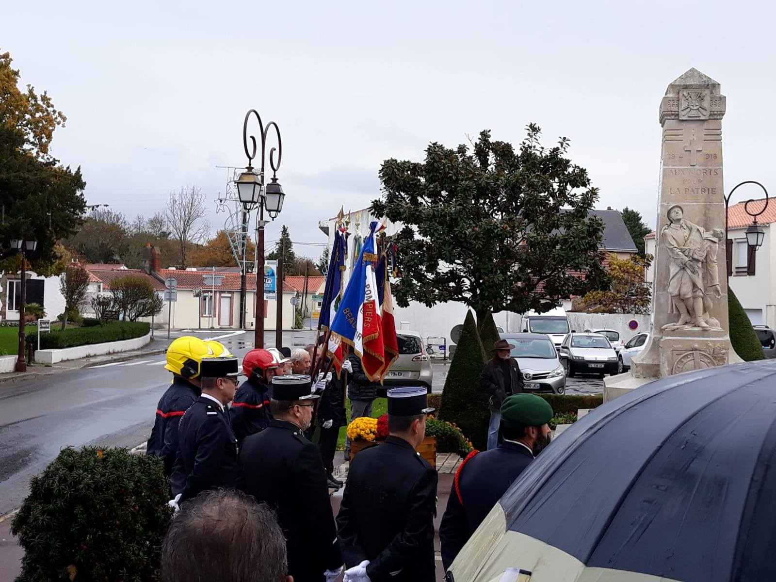 herdenking 1e wereldoorlog in Frankrijk