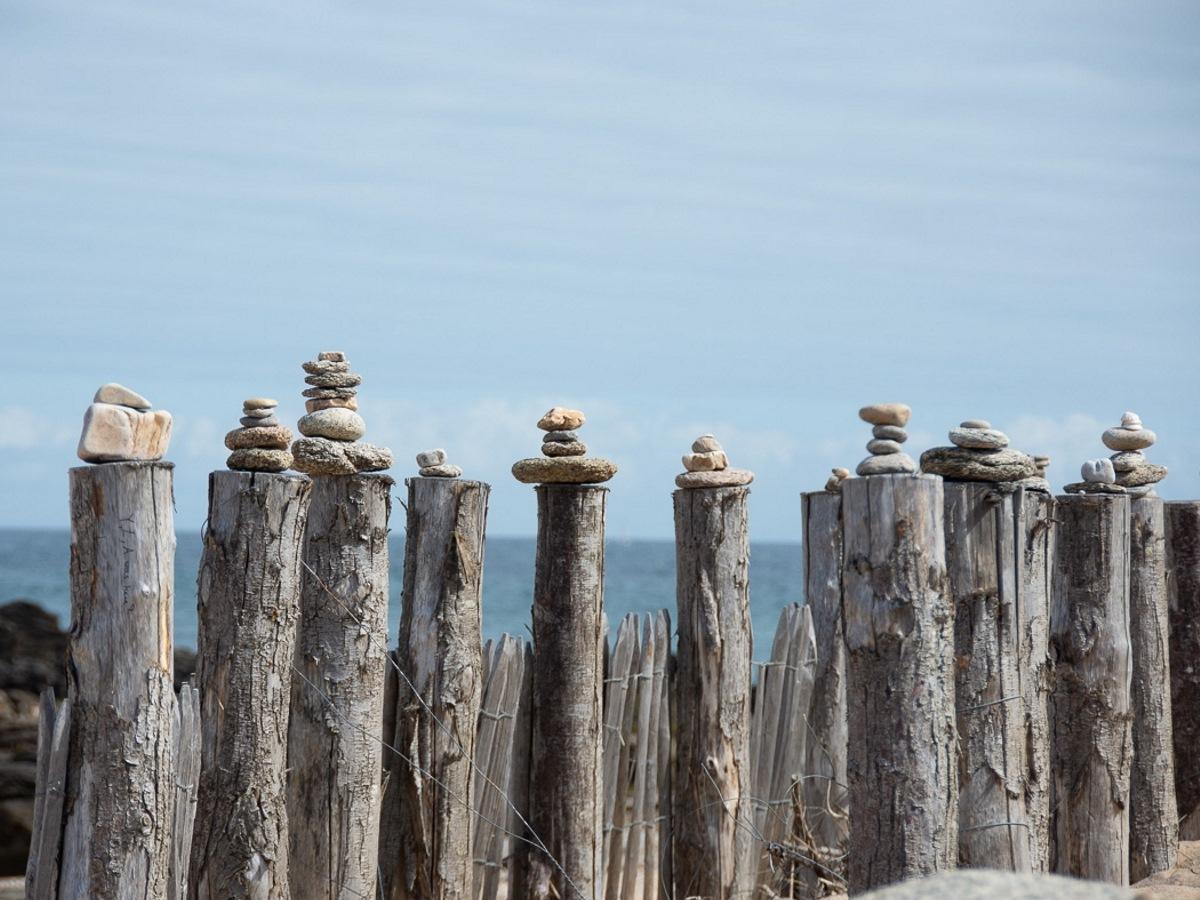 mooi stilleven in Frankrijk aan de kust