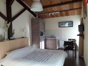 kamer met kitchenette in Frankrijk