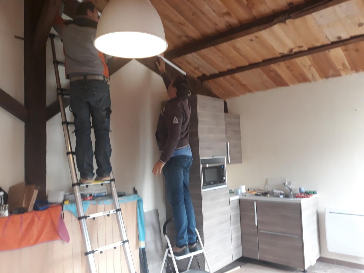 nieuwe keuken in Frankrijk